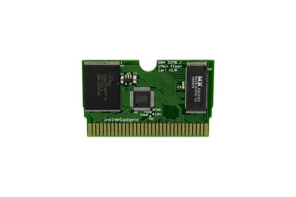 GBA 32MB, 1Mbit Flash Save, Flash Cart 1