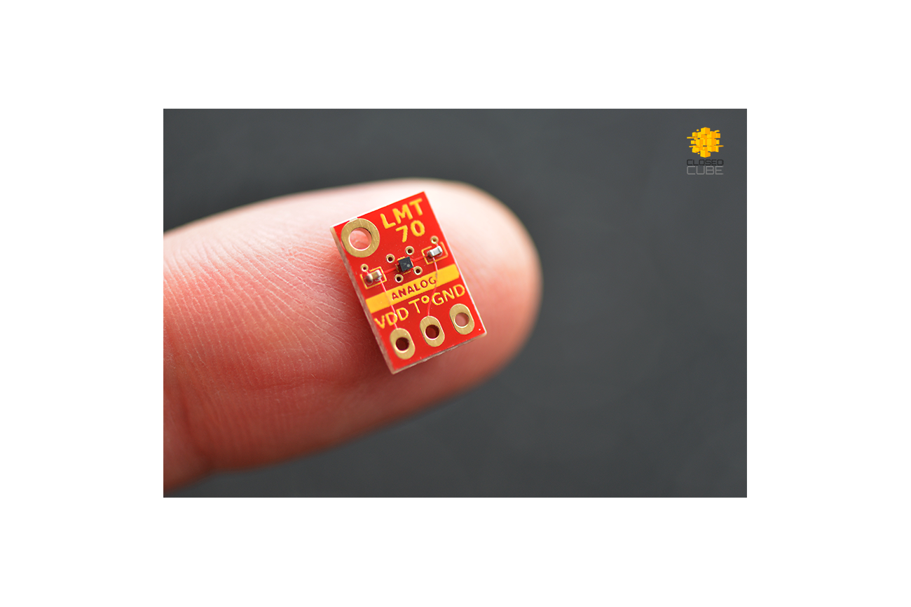 LMT70  ±0.1°C Precision Analog Temperature Sensor