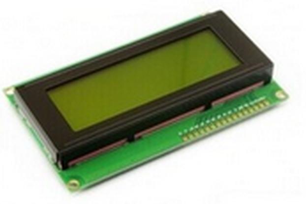 20x4 LCD screen