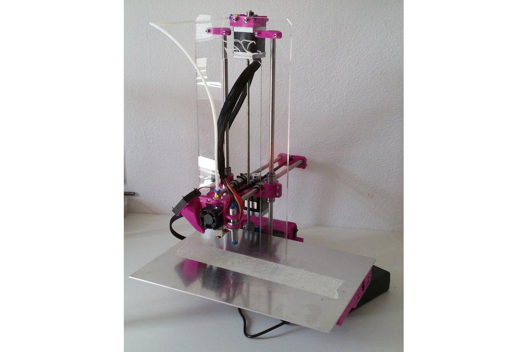 Go-Make Junior 3D printer (Fully Assembled) 1