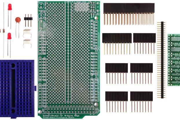 SchmartBoard|ez SOT 23/SC70 Arduino Mega Shield Kit