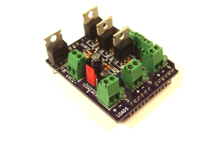 MOSFET Jr Arduino Shield Kit
