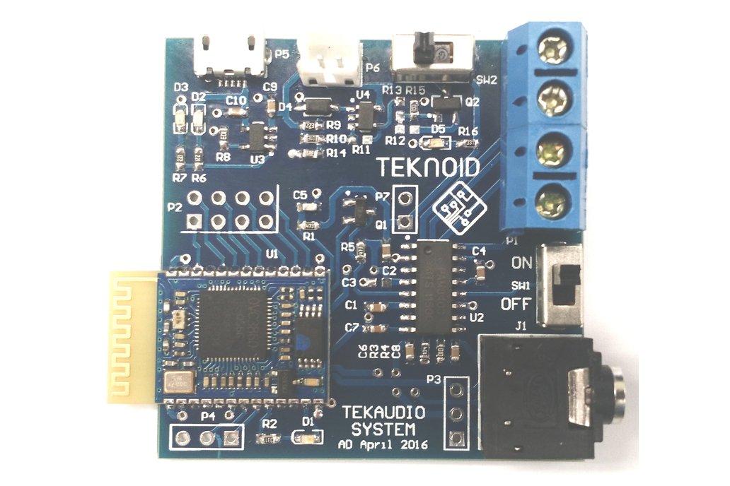 TekAudio Bluetooth Stereo System 1
