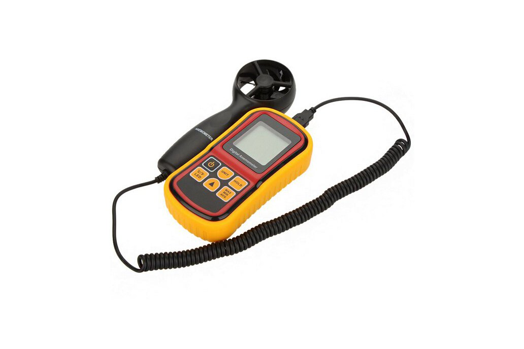 LCD Digital Anemometer Wind Speed Tester  2
