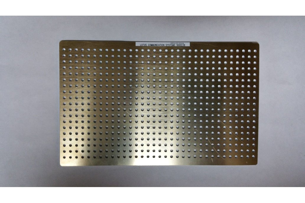 RF Prototype Base Plate (160mmx100mm) 1