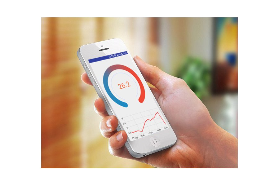 SensyTemp – Wireless Bluetooth Thermometer