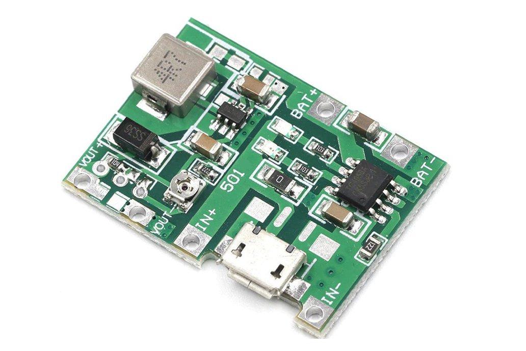 UPS battery cell Lith boost out 5V-27V adjustable 1