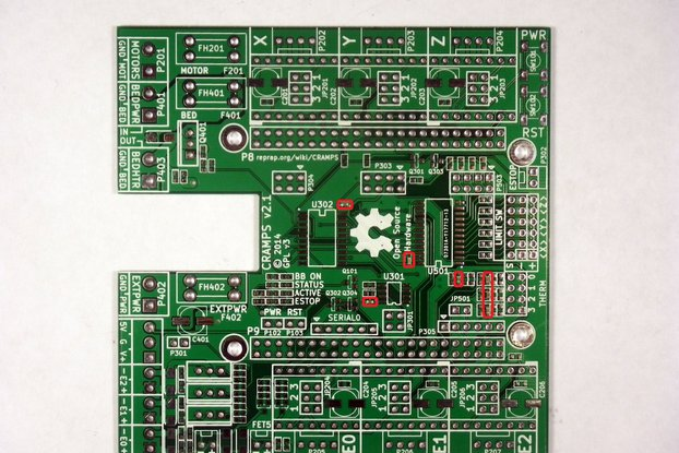 CRAMPS - Stepper driver beaglebone cape - v2.2 PCB