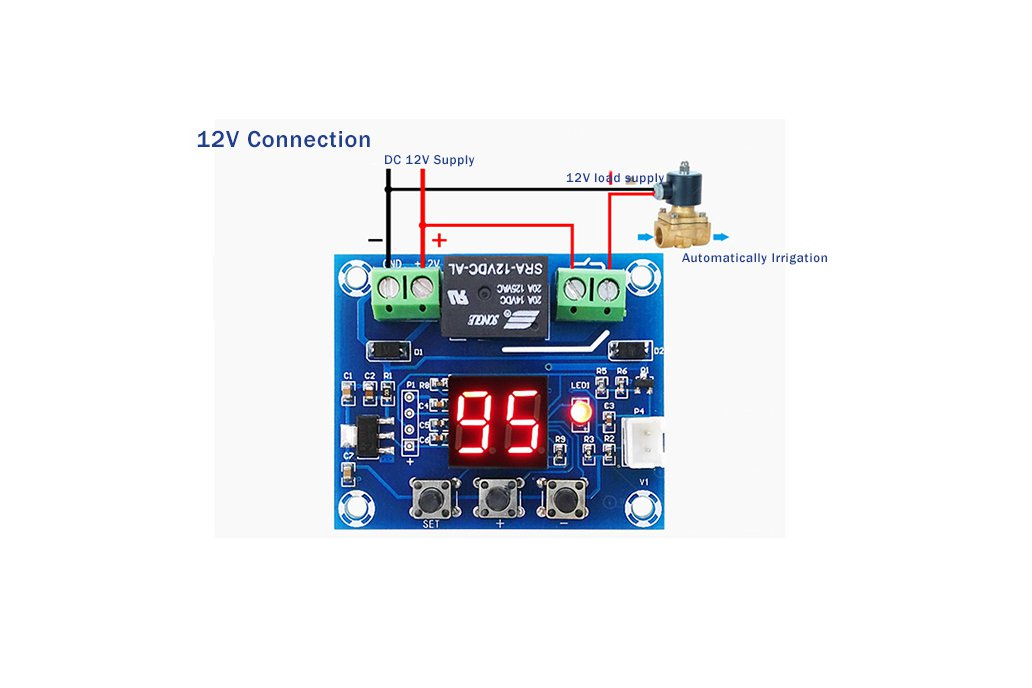 XH-M214 Humidity Controller Soil Irrigation(13099) 4