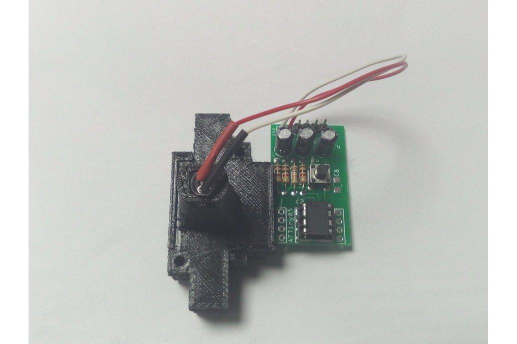 3D Printer Filament Diameter Sensing : Assembled 2