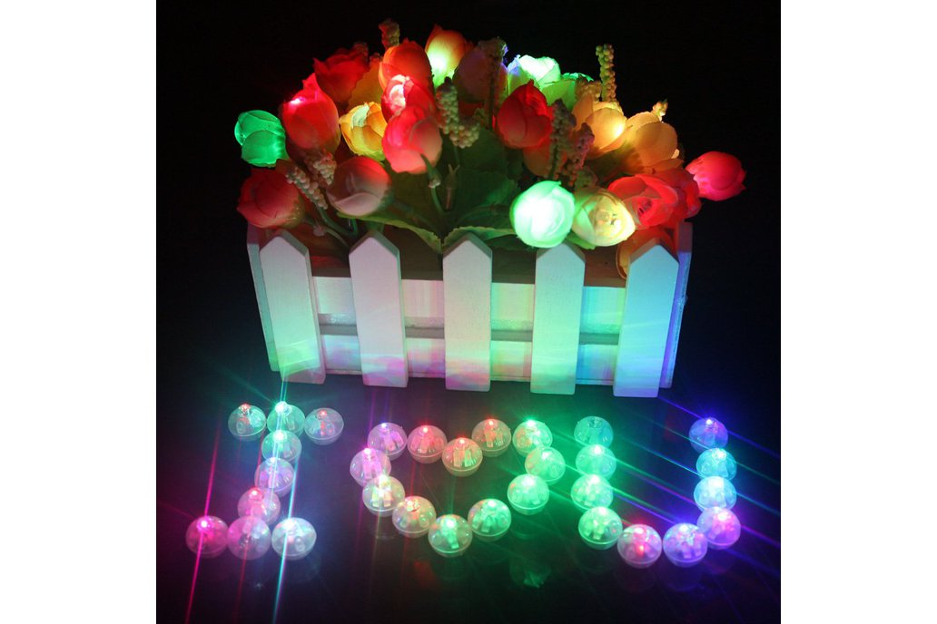 50 Pcs Led  Flash Ball 1