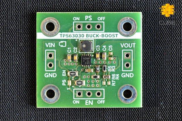 TPS63030 High Efficient Buck-Boost (3.3V or 5V)