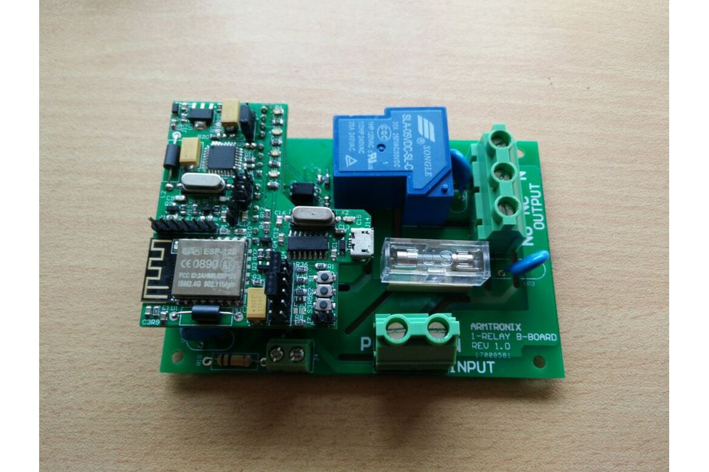 Wifi Heavy Duty Relay Board 2