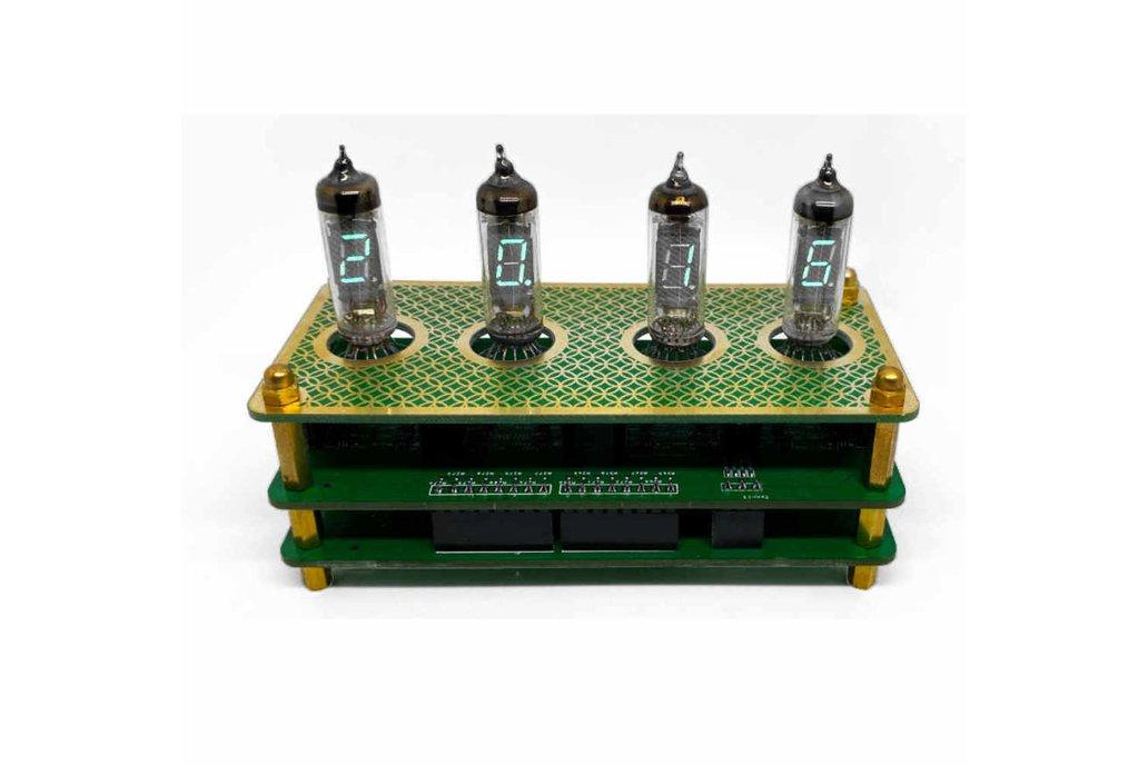 IV3 Tube Clock Kit 1