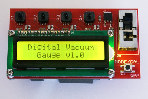 Digital Vacuum Gauge - Parts Kit