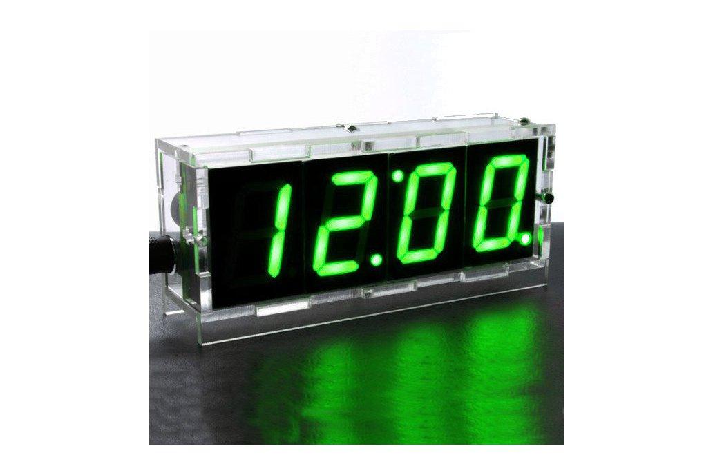 DIY 4 Digit LED Electronic Clock Kit Large Screen  4