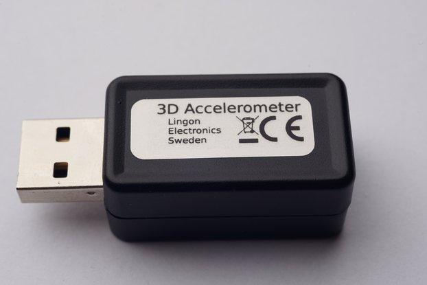 USB 3D Accelerometer