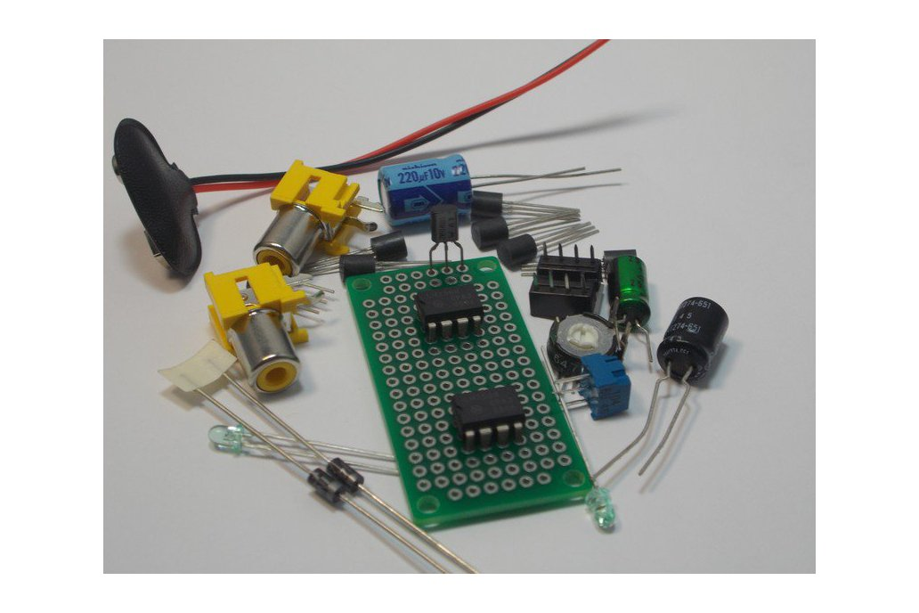 LF353 Dual JFET Op Amp Design Kit (#1285) 1
