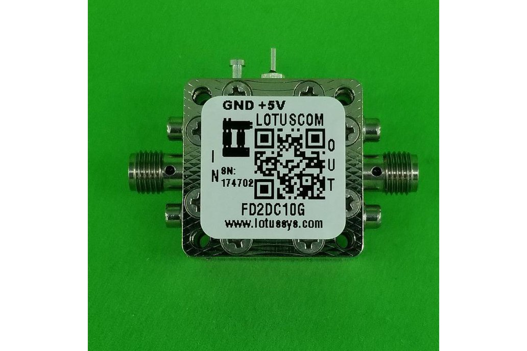 Frequency Divider/Prescaler Divide by 2 (DC~10GHz) 1