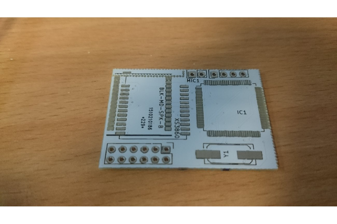 PCB for Ford cdemulator with bluetooth (FordACP)