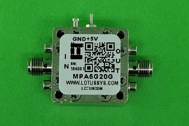 MEDIUM POWER AMPLIFIER 7.0DB NF 5GHZ TO 20GHZ 19DB
