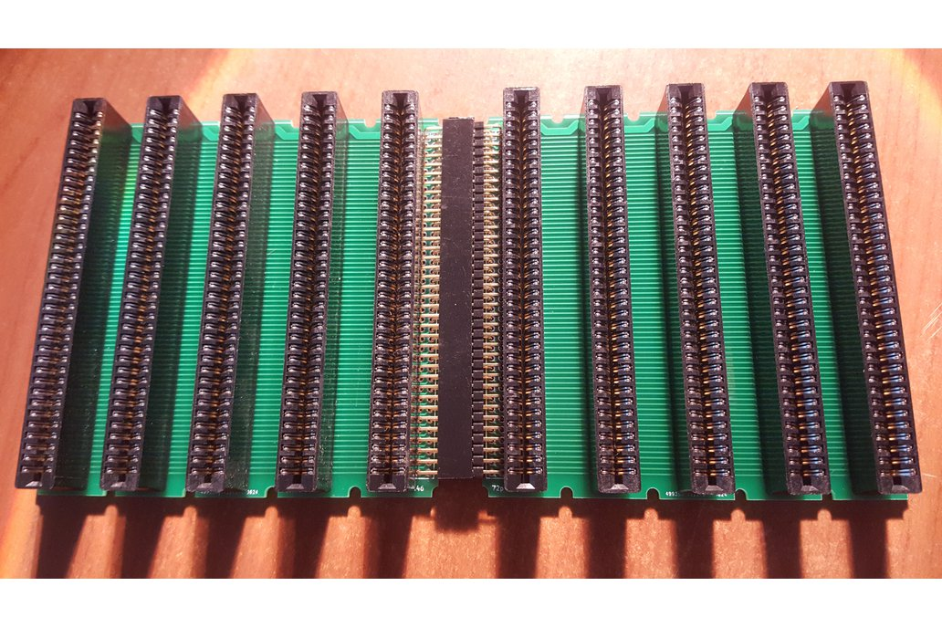 General purpose 72 pin modular backplane 1