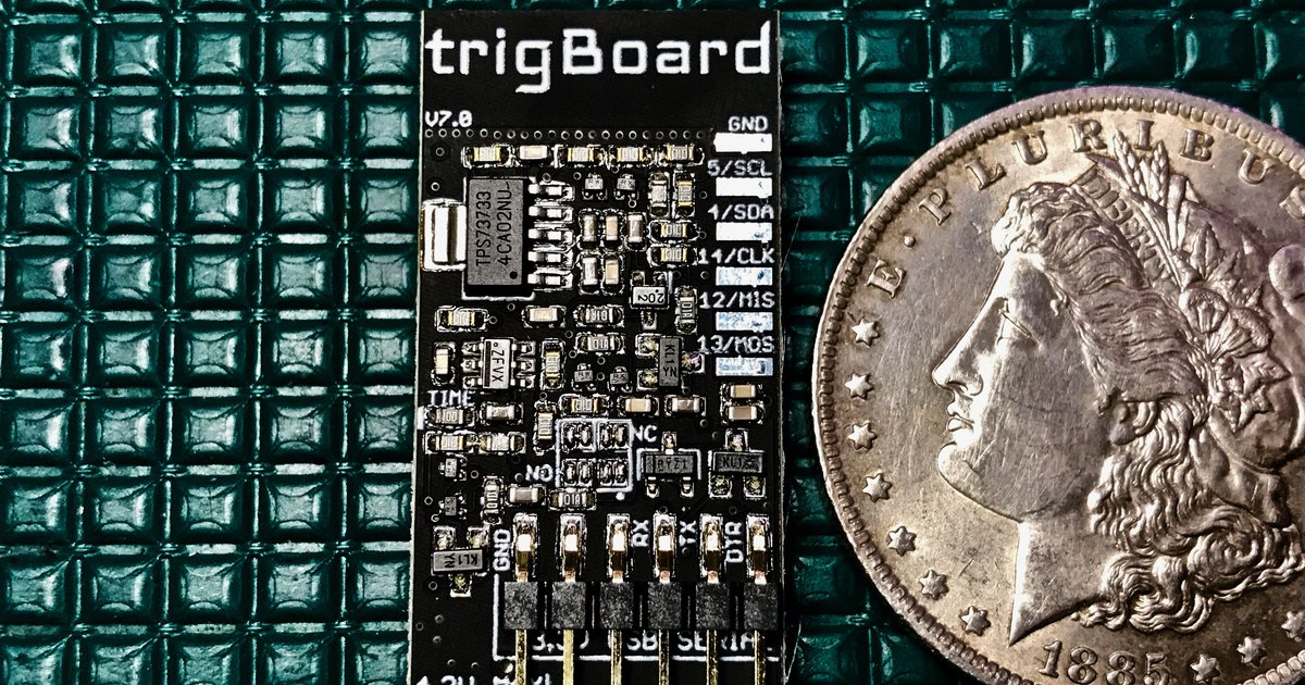 trigBoard - Ultra Low Power ESP8266 IoT Platform by KD Circuits on Tindie
