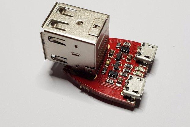 Micro USB Dual Supply - Dual Ideal Diodes