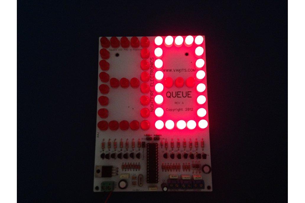 "6"" LED Scoreboard Kit - Up/Down Counter Kit 3"