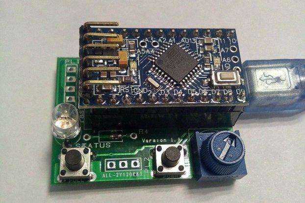 SMD Solder Paste Dispenser/Injector Control Board