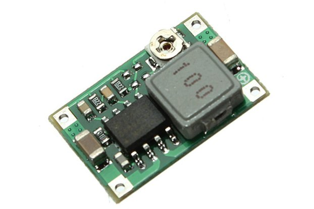 Mini DC Adjustable Power Supply Buck Module Step D