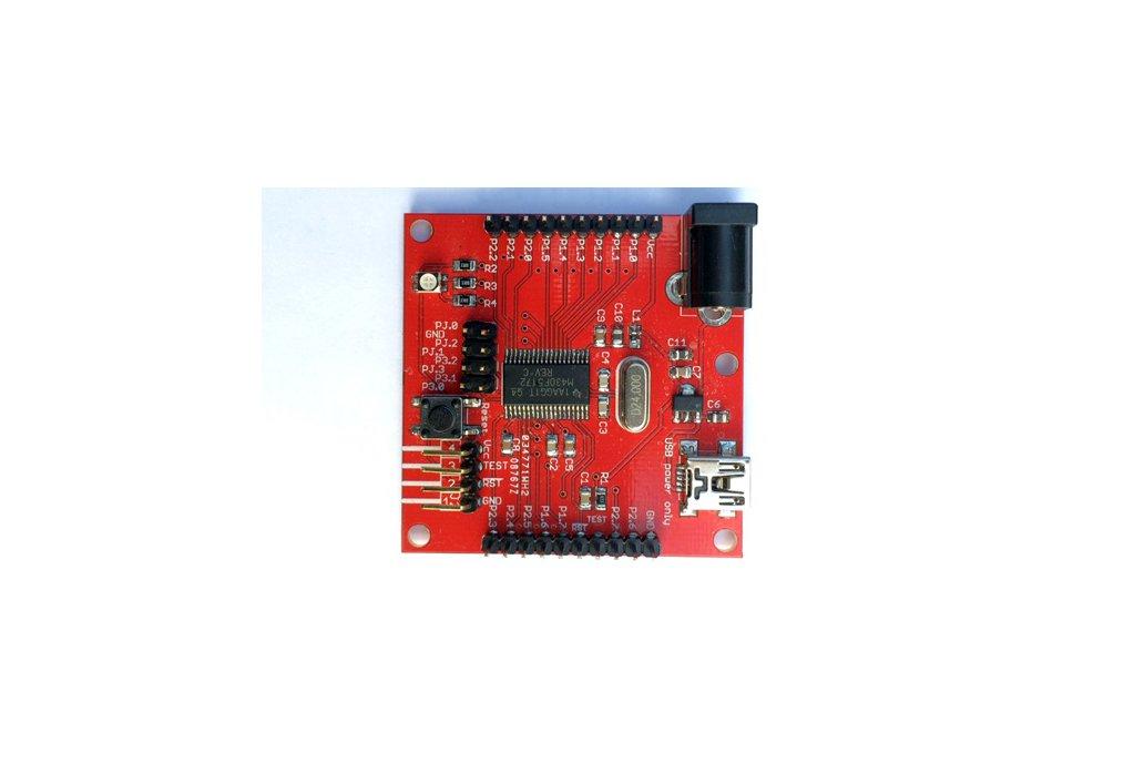 MSP430F5172 Development Board (PCB) 1