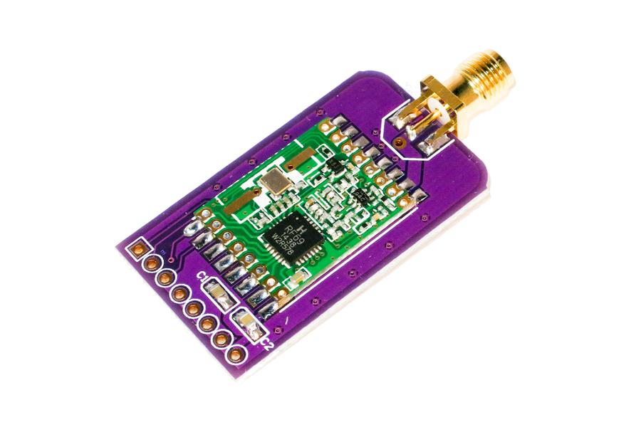 Slim RFM69HW Wireless Breakout Board - 1km+ range