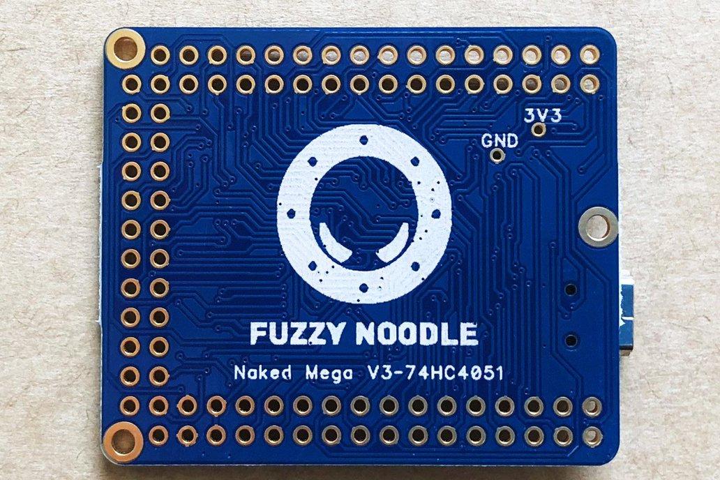 Naked Mega 3 w/HCT4051 Multiplexer 2