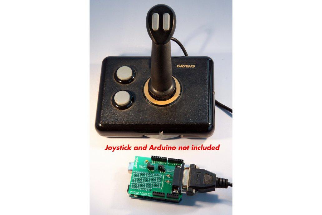 Arduino Joystick Shield for DB15 PC Joysticks 2