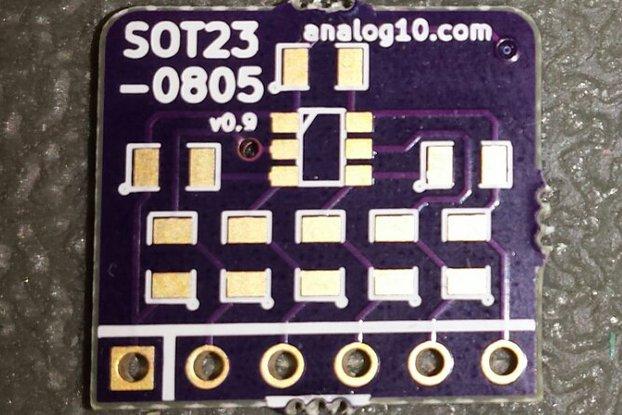 pin^2 0805: Best Breakout Board for SOT23-6