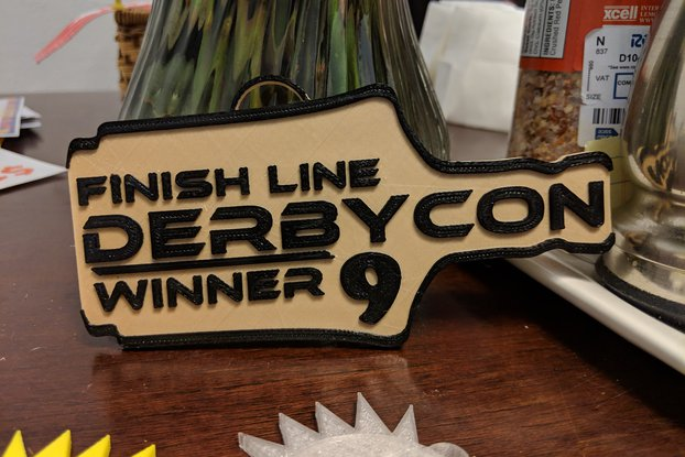 Derbycon Winning Bourbon Badge
