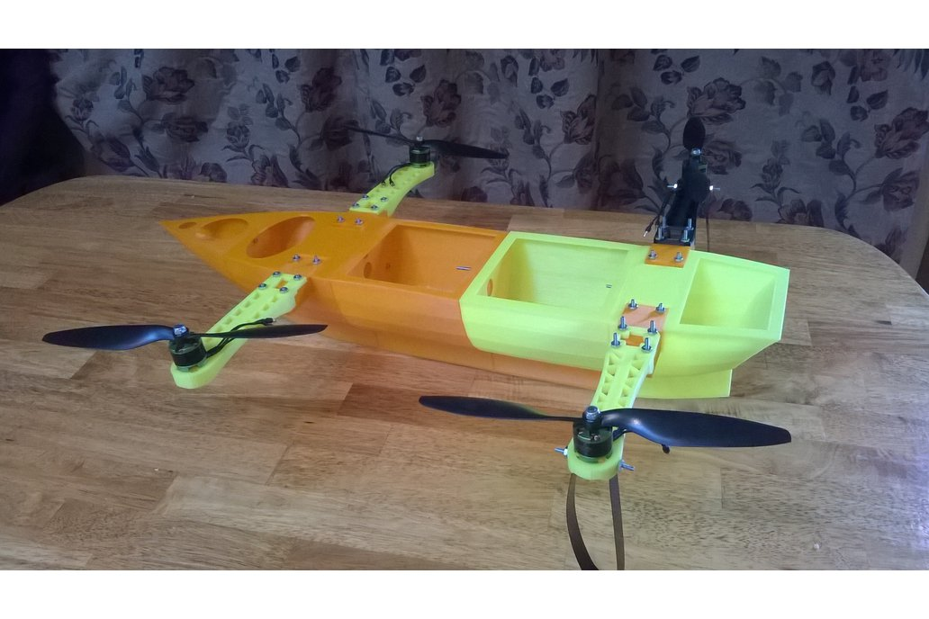 Flying Ship Robotics Platform (Hull and arms Only) 2