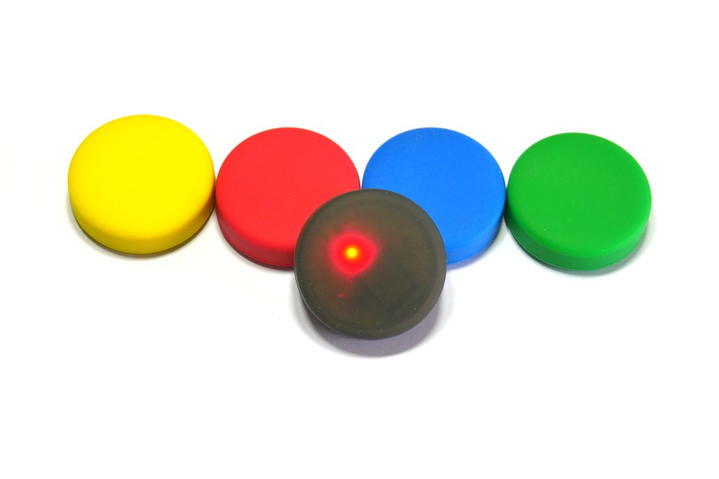 Puck.js cases (Black, Red, Yellow, Green, Blue) 1