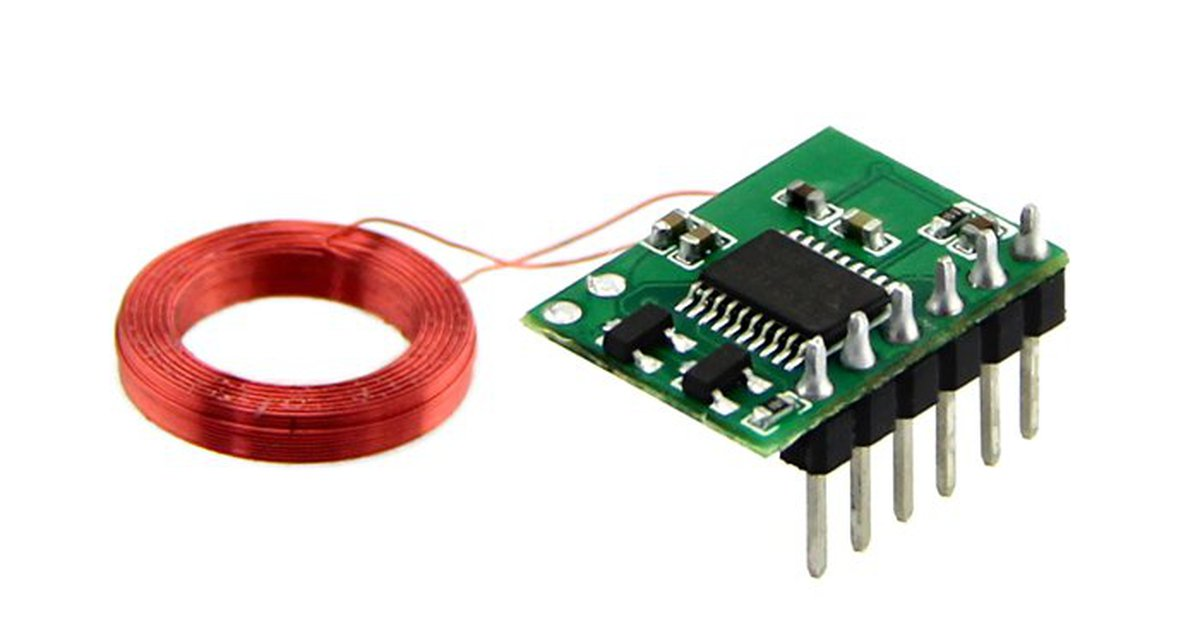 Mini khz rfid module antenna mm from smart