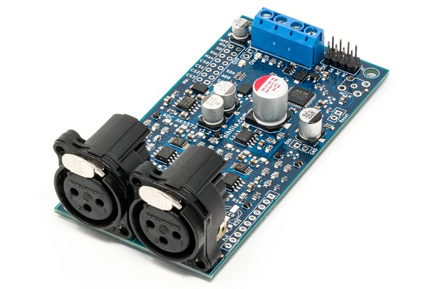 ADC AK5572 - High performance audio AD-converter