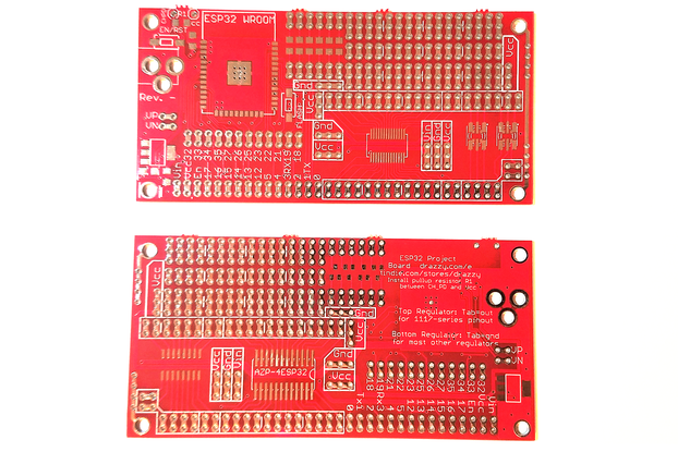 ESP32 Project Prototyping Board