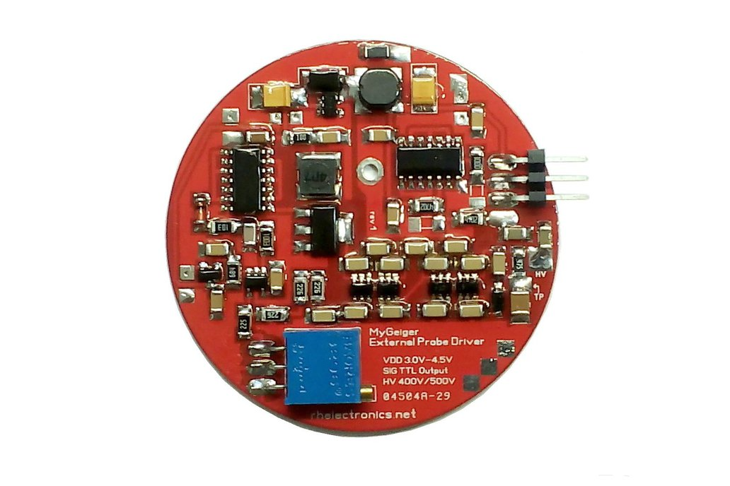 High Voltage Module for Geiger Tube with Pulse Out 1