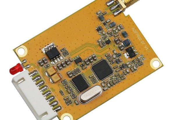 433Mhz 500mw RS232  TTL DRF7020D27-043A1