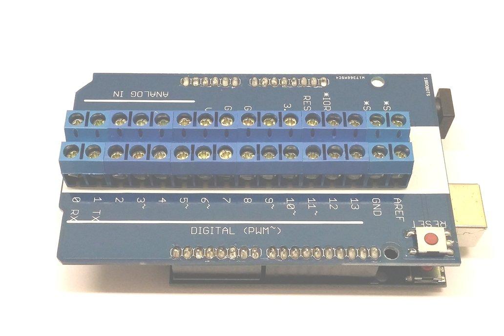 Screw Terminal Shield for Arduino 2