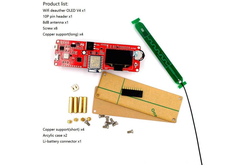 DSTIKE WiFi Deauther OLED V4 5