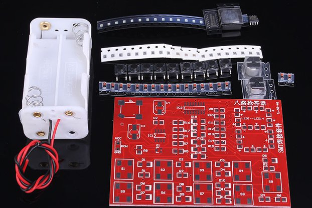 DIY SMD 8 Channel Digital Responder(10375)