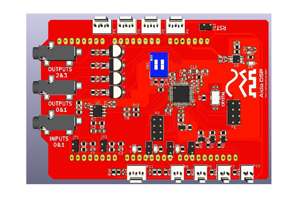 Aida DSP Arduino Shield