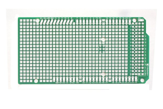 Proto Shield for Arduino Mega + Headers