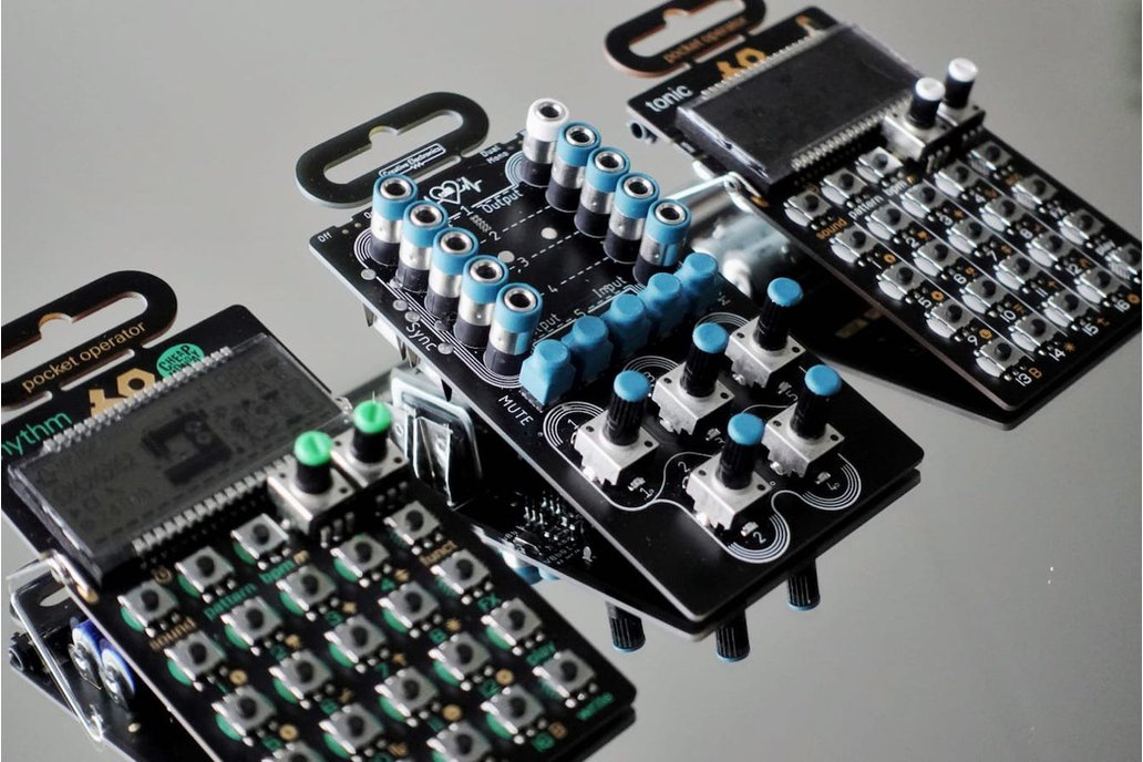 5 Channel Summing Mixer for Pocket Operators 1